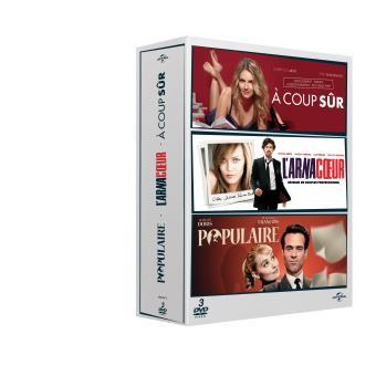 À coup sûr, L'arnacoeur, Populaire, Coffret DVD