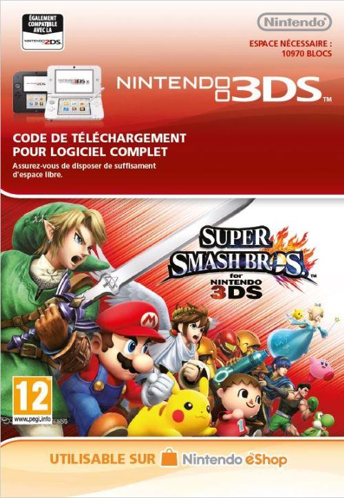 Code de téléchargement Super Smash Bros. Nintendo 3DS