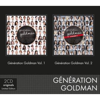 Génération Goldman Coffret