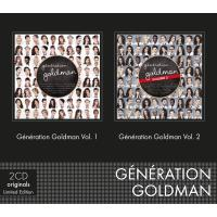 Coffret 2 CD (Génération Goldman Vol. 1 & Génération Goldman Vol. 2)