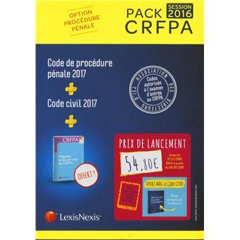 Pack CRFPA pénal