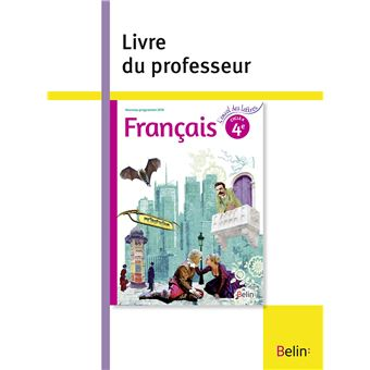 L'envol des lettres Français 4ème, Cycle 4