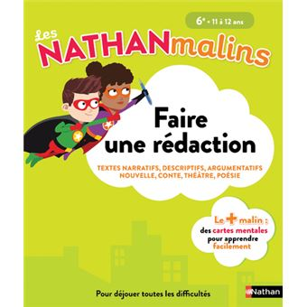 Les Nathan Malins College Faire Une Redaction 6eme Cycle 3