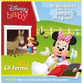 Disney Baby - Je découvre avec ma lampe magique - La ferme