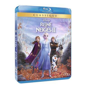 Frozen, La reine des neigeLa Reine des neiges 2 Blu-ray