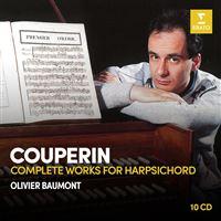 COMPLETE WORKS FOR HARPSICHORD/10CD