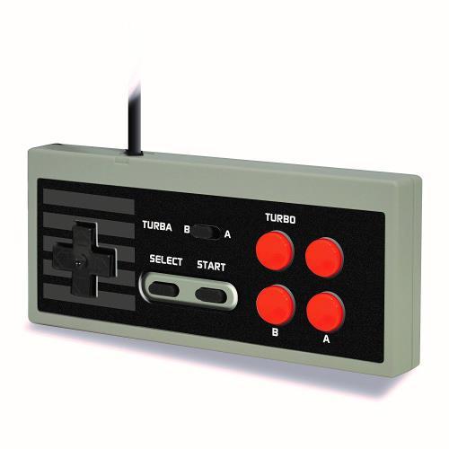 Manette Steelplay Edge pour Nintendo Classic Mini NES + Livre code de triche