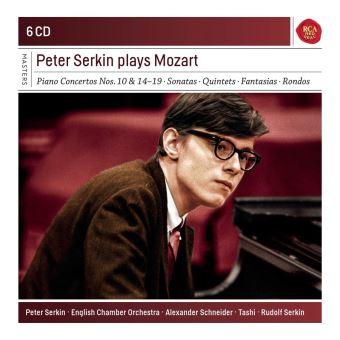 Peter Serkin Plays Mozart Coffret