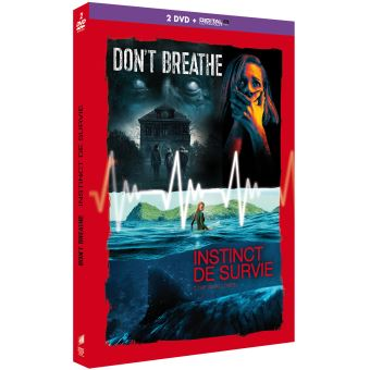 Coffret Don't Breathe Instinct de survie DVD