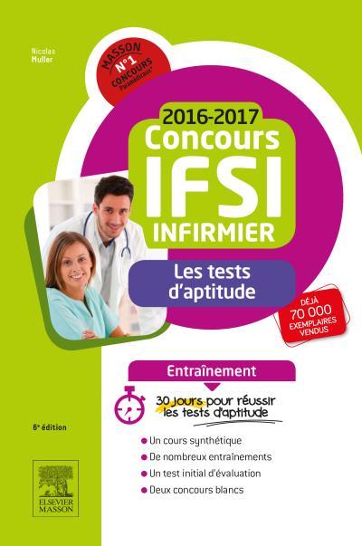 Concours Infirmier 2016-2017 - Les tests d'aptitude - Entraînement