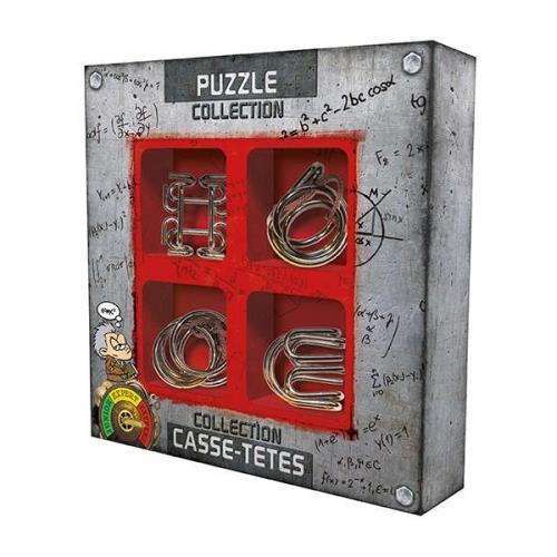 Coffret de 4 casse-têtes en métal Gigamic Extrême