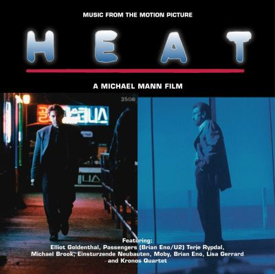 Heat Music From The Motion Picture Edition Collector Vinyle bleu