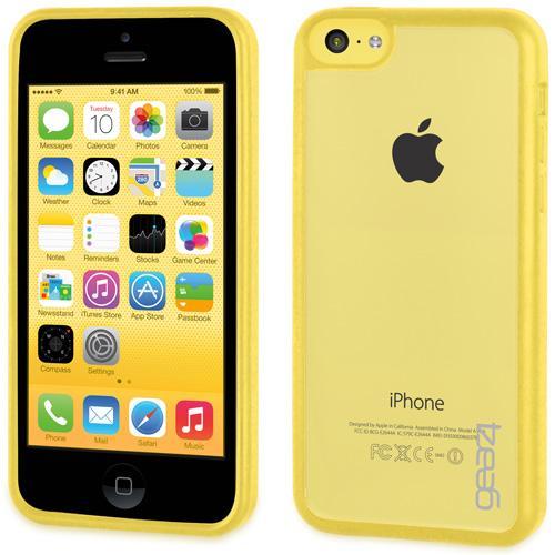 Coque Gear4 IceBox pour iPhone 5c Jaune
