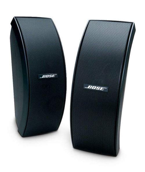 Enceinte d'extérieur Bose 151 résistante aux intempéries Noir vendue par paire