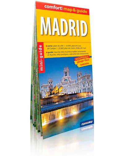 Madrid (comfort !map&guide, carte laminée)