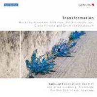Transformation/oeuvres pour quatuor de saxophones