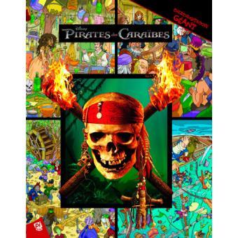 Cherche Et Trouve Geant Pirates Des Caraibes