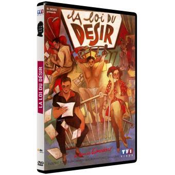 La loi du désir DVD