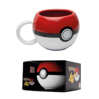 POKEMON-3D MUG 300 ML-POKEBALL