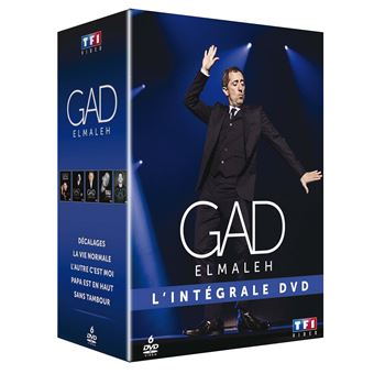 Coffret Gad Elmaleh Intégrale DVD