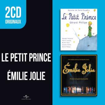 2 CD originaux : Le petit Prince Émilie Jolie