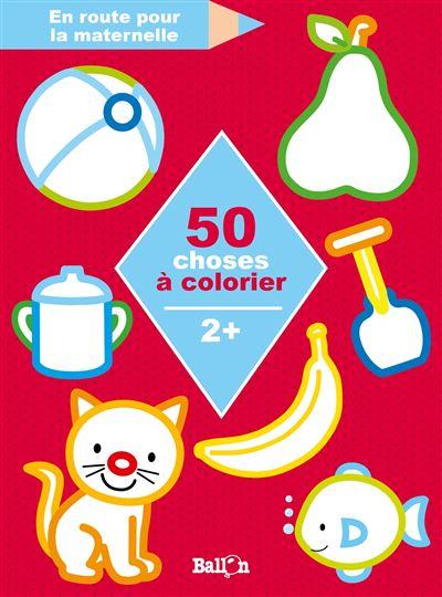 50 choses à colorier 2+