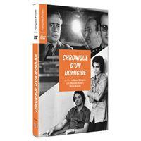 Chronique d'un homicide DVD
