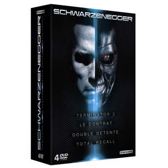 Arnold Schwarzenegger, Coffret 4 films DVD
