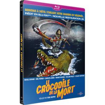 Le Crocodile de la mort Steelbook Blu-ray