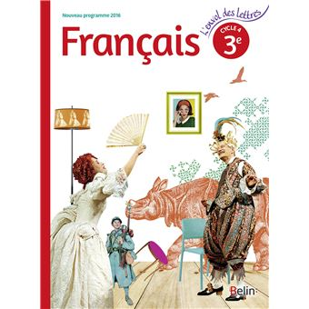 L'envol des lettres, Français 3ème, Cycle 4