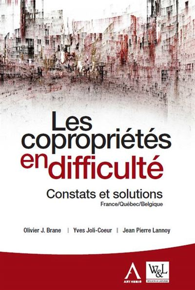 Les coproprietes en difficulte 2eme ed