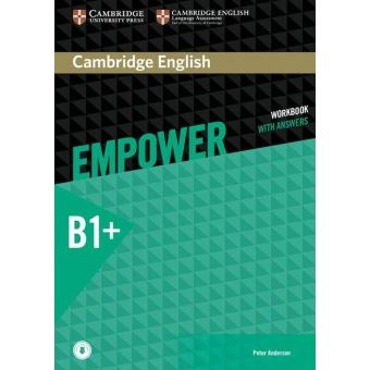 CAMBRIDGE ENGLISH EMPOWER INTERMEDIATE WORKBOOK WITH ANSWERS