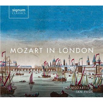 MOZART A LONDRES/2CD