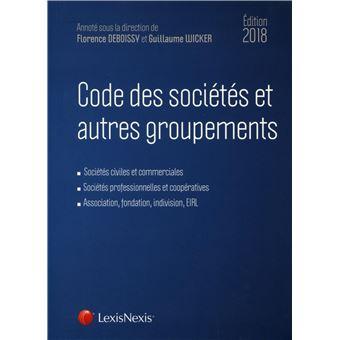 Code des societes et autres groupements 2018