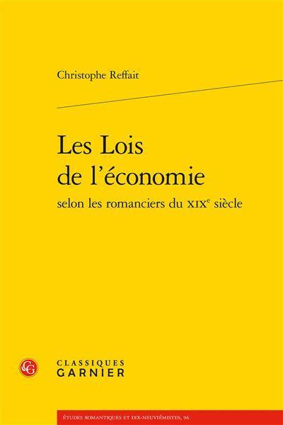 Les Lois de l'économie