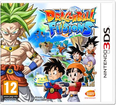 Dragon Ball Fusions 3DS
