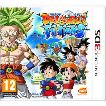 dragon ball fusions 3ds jeux vid o achat prix fnac. Black Bedroom Furniture Sets. Home Design Ideas