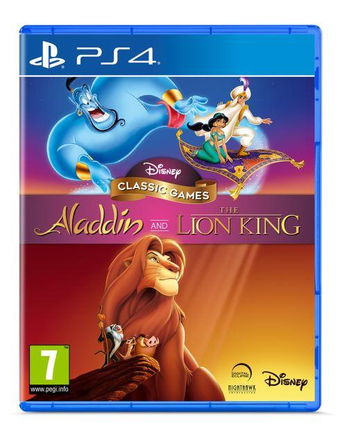 Aladdin et le Roi Lion Remaster Collection PS4