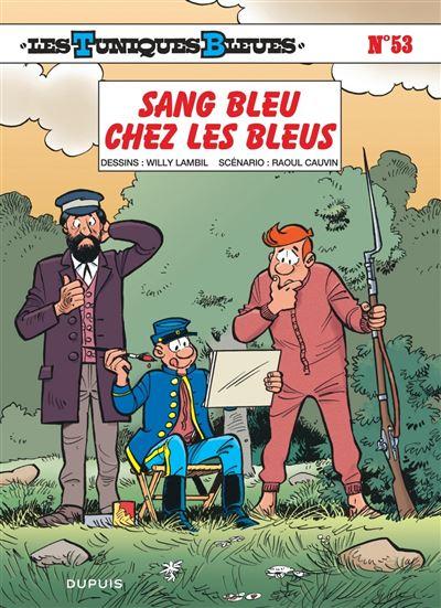 Les Tuniques Bleues - Sang bleu chez les Bleus