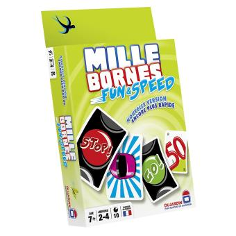 mille bornes fun et speed dujardin jeu de cartes. Black Bedroom Furniture Sets. Home Design Ideas