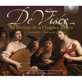 MUSIQUE DE LA CHAMBRE DU ROY/4CD