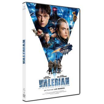 Valérian et LaurelineValérian et la Cité des Mille Planètes DVD