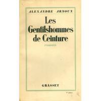 Les Gentilshommes de ceinture (Littérature) (French Edition)