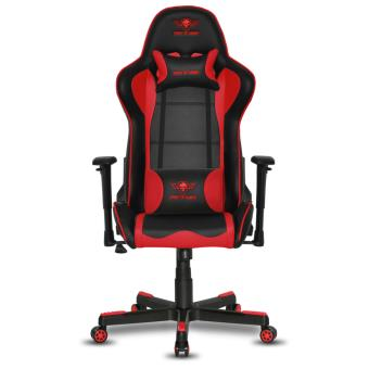 fauteuil spirit of gamer spitfire gaming noir et rouge accessoire console de jeux achat. Black Bedroom Furniture Sets. Home Design Ideas