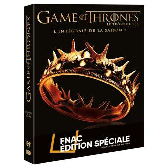 Le trône de ferGame of Thrones Coffret intégral de la Saison 2 Edition Spéciale Fnac DVD