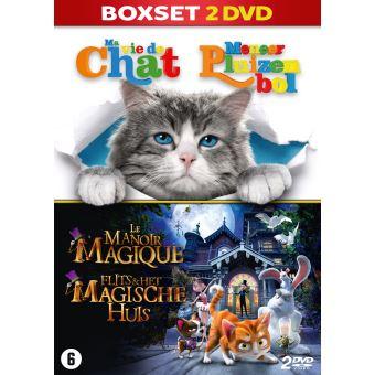 MA VIE DE CHAT+LE MANOIR MAGIQUE-COFFRET-BIL