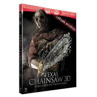 Texas Chainsaw Combo Blu-Ray 3D + DVD