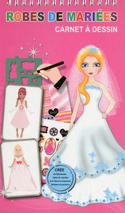 Robes de mariées - Carnet à dessin