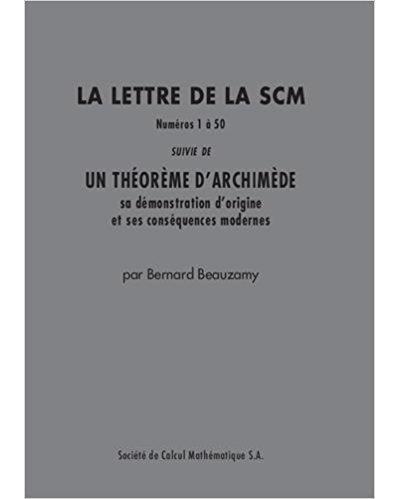 Le recueil des lettres de la SCM