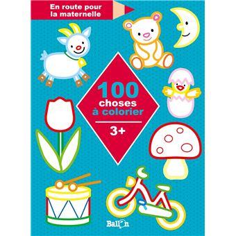 100 choses à colorier 3+